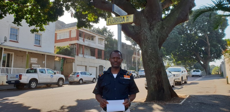 Security Officer Sbusiso Xulu's Excellent Work