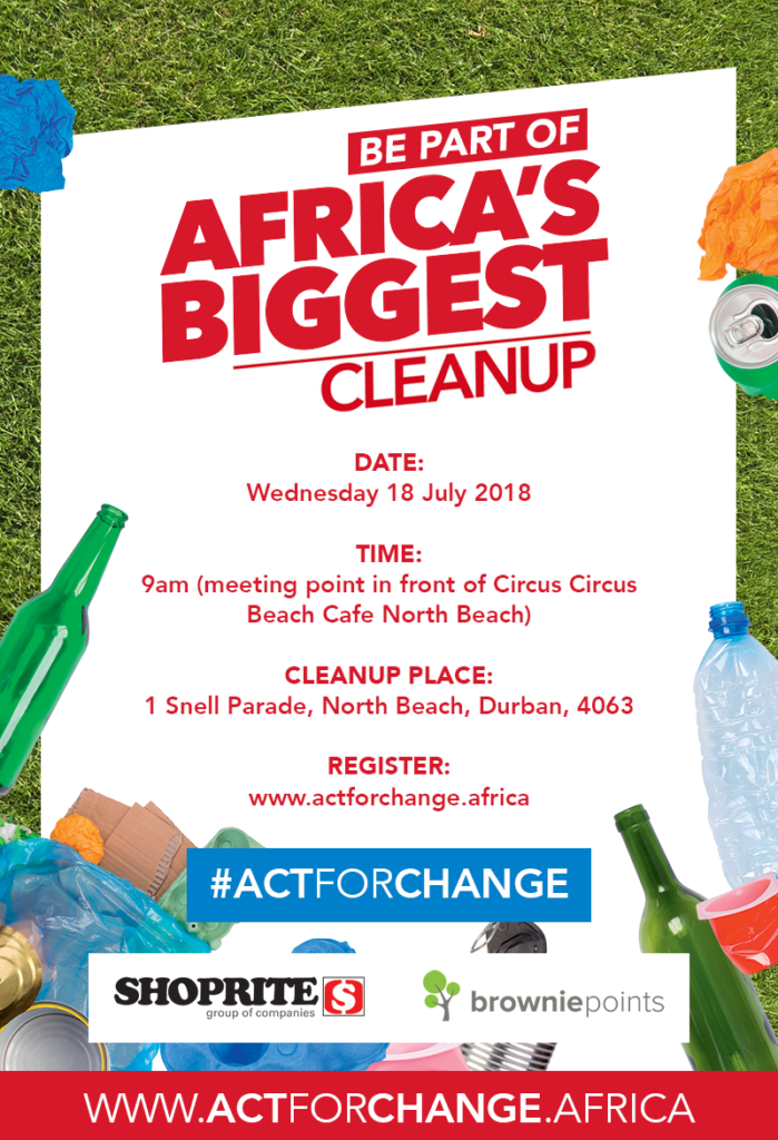 Get Involved In Africa's Biggest Clean-Up