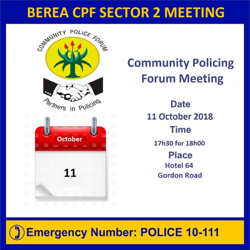 Sector 2 CPF Meeting