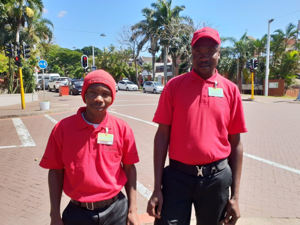 New Sidewalk Monitor Uniforms